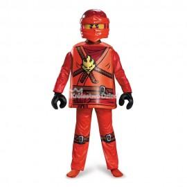 LEGO® - NINJAGO - KOSTIUM DELUXE - STRÓJ JAY - ROZMIAR M - WIEK 7+ - 98123K