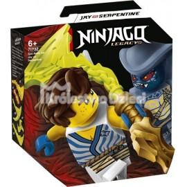 LEGO® - NINJAGO® - EPICKI ZESTAW BOJOWY - JAY KONTRA WĘŻON - 71732