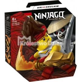 LEGO® - NINJAGO® - EPICKI ZESTAW BOJOWY - KAI KONTRA SZKIELET - 71730