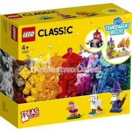 LEGO® - CLASSIC - KREATYWNE PRZEZROCZYSTE KLOCKI - 11013