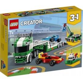 LEGO® - CREATOR - LAWETA Z WYŚCIGÓWKAMI - 31113