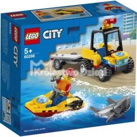 LEGO® - CITY - PLAŻOWY QUAD RATUNKOWY - 60286