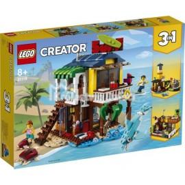 LEGO® - CREATOR - DOMEK SURFERÓW NA PLAŻY - 31118