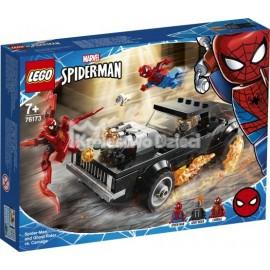 LEGO® - MARVEL SUPER HEROES - SPIDER-MAN I UPIORNY JEŹDZIEC KONTRA CARNAGE - 76173