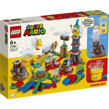 LEGO® - SUPER MARIO™ - MISTRZOWSKIE PRZYGODY - ZESTAW TWÓRCY - 71380