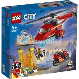 LEGO® - CITY - STRAŻACKI HELIKOPTER RATUNKOWY - 60281