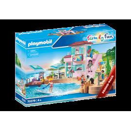 PLAYMOBIL - FAMILY FUN - LODZIARNIA W PORCIE - 70279