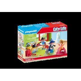 PLAYMOBIL - CITY LIFE - DZIECI ZE SKRZYNIĄ Z KOSTIUMAMI - 70283