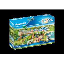 PLAYMOBIL - FAMILY FUN - PRZYGODA W ZOO - 70341