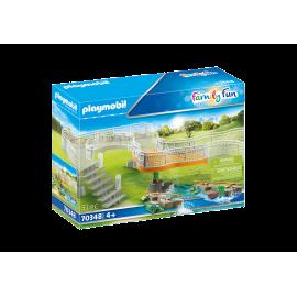 PLAYMOBIL - FAMILY FUN - PLATFORMA WIDOKOWA - 70348