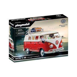 PLAYMOBIL - VOLKSWAGEN - VOLKSWAGEN T1 CAMPING BUS - 70176