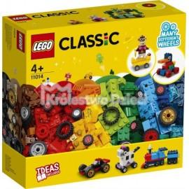 LEGO® - CLASSIC - KLOCKI NA KOŁACH - 11014
