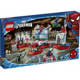 LEGO® - MARVEL SUPER HEROES - SPIDERMAN - ATAK NA KRYJÓWKĘ SPIDER-MANA - 76175