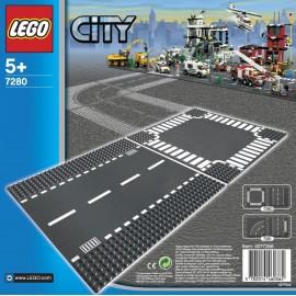 LEGO® - CITY - ODCINEK PROSTY i SKRZYŻOWANIE - 7280