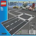 LEGO - CITY - DROGI - ODCINEK PROSTY i SKRZYŻOWANIE - 7280