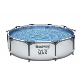 BESTWAY - BASEN STELAŻOWY - STEEL PRO MAX + POMPA FILTRACYJNA 3.05M x 0.76M - 56408