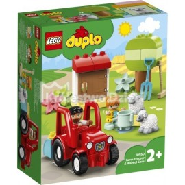 LEGO® - DUPLO® - TRAKTOR I ZWIERZĘTA GOSPODARSKIE - 10949
