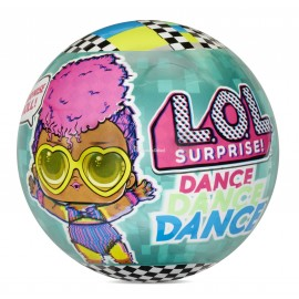 L.O.L. SURPRISE O.M.G. - LOL NIESPODZIANKA - DANCE DANCE DANCE - LALECZKA + AKCESORIA - 117926