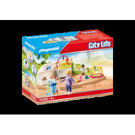 PLAYMOBIL - CITY LIFE - PLAC ZABAW - 70281