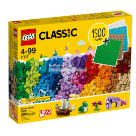 LEGO® - CLASSIC - KLOCKI KLOCKI PŁYTKI - 11717