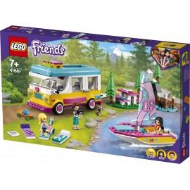LEGO® - FRIENDS - LEŚNY MIKROBUS KEMPINGOWY I ŻAGLÓWKA - 41681