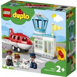 LEGO® - DUPLO® - SAMOLOT I LOTNISKO - 10961