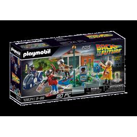 PLAYMOBIL - BACK TO THE FUTURE - II POŚCIG NA DESKOLOTCE - 70634