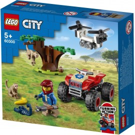 LEGO® - CITY - QUAD RATOWNIKÓW DZIKICH ZWIERZĄT - 60300