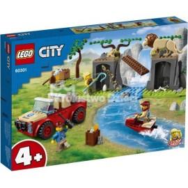 LEGO® - CITY - TERENÓWKA RATOWNIKÓW DZIKICH ZWIERZĄT - 60301