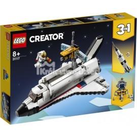 LEGO® - CREATOR - PRZYGODA W PROMIE KOSMICZNYM - 31117