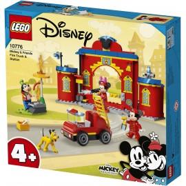 LEGO® - DISNEY™ - REMIZA I WÓZ STRAŻACKI MYSZKI MIKI I PRZYJACIÓŁ - 10776