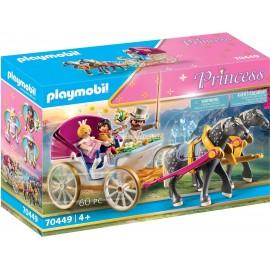 PLAYMOBIL - PRINCESS - ROMATNTYCZNA BRYCZKA - 70449