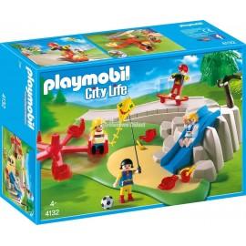 PLAYMOBIL - CITY LIFE - PLAC ZABAW - SUPER ZESTAW - 4132