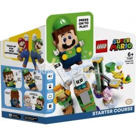 LEGO® - SUPER MARIO™ - PRZYGODY Z LUIGIM - ZESTAW STARTOWY - 71387