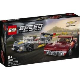 LEGO® - SPEED CHAMPIONS - CHEVROLET CORVETTE C8.R + 1968 CHEVROLET CORVETTE - 76903