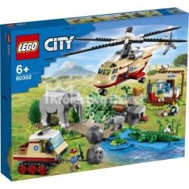 LEGO - CITY - NA RATUNEK DZIKIM ZWIERZĘTOM - 60302