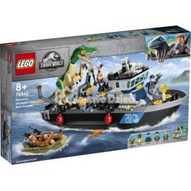 LEGO® - JURASSIC WORLD™ - BARIONYKS I UCIECZKA ŁODZIĄ - 76942