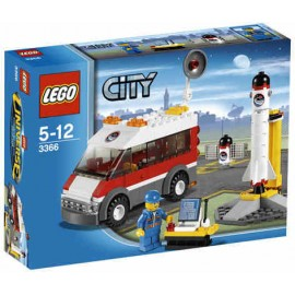 LEGO - CITY - WYRZUTNIA SATELITÓW - 3366
