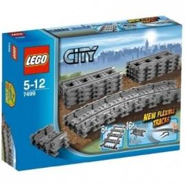 LEGO - CITY - ELASTYCZNE TORY i ODCINKI PROSTE - 7499