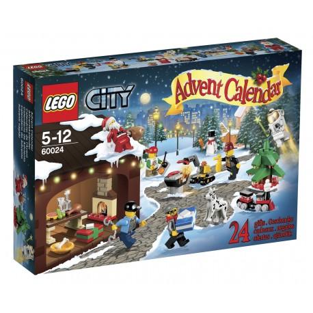 LEGO - CITY - KALENDARZ ADWENTOWY - 60024
